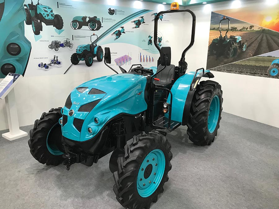 automatic tractor