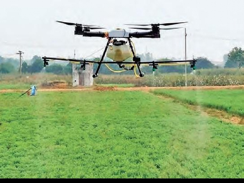 drone use in agri
