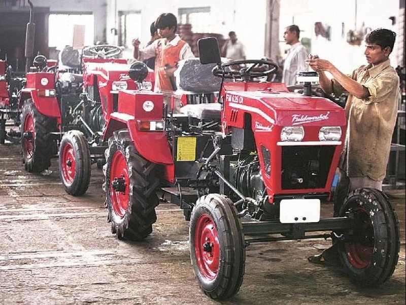 tractor selling growth