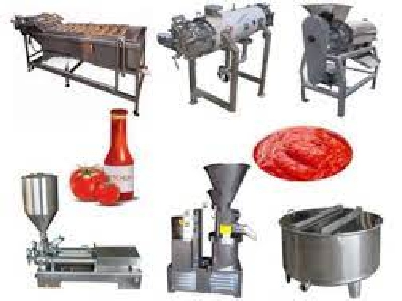 tomtto processing machinary