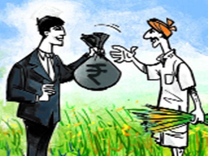 शेतकऱ्यांना 348 कोटी रुपयांची कर्जमाफी