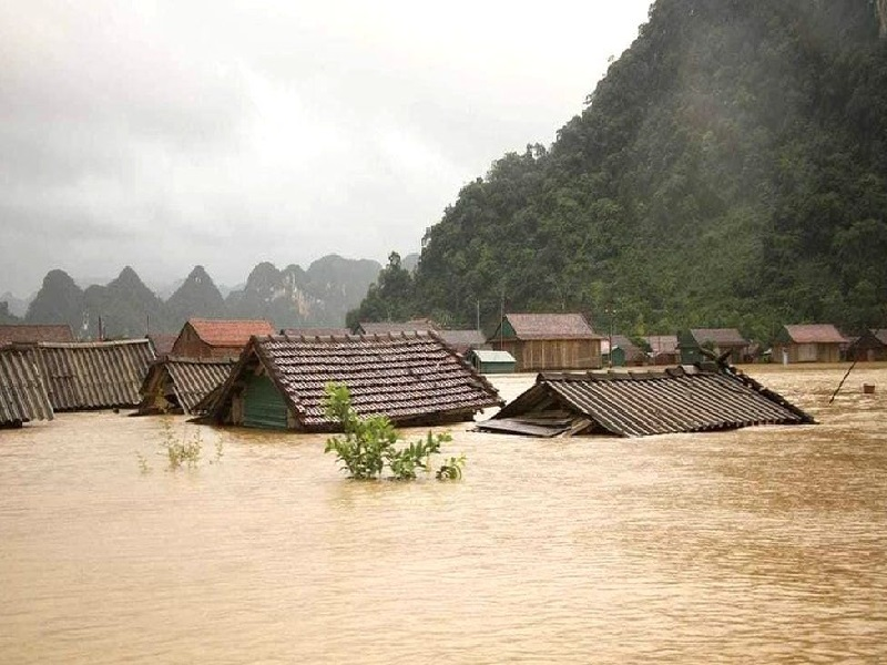 flood affected package