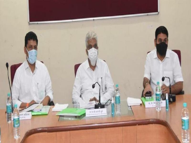 महाराष्ट्र कृषी शिक्षण व संशोधन परिषदेची १०५ वी बैठक संपन्न