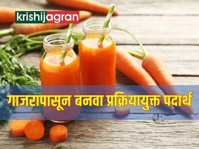 गाजरापासून बनवा आरोग्यवर्धक पदार्थ