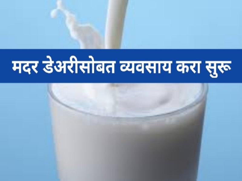 Mother Dairy सोबत सुरू करा व्यवसाय;  पहिल्या दिवसापासून होईल नफा