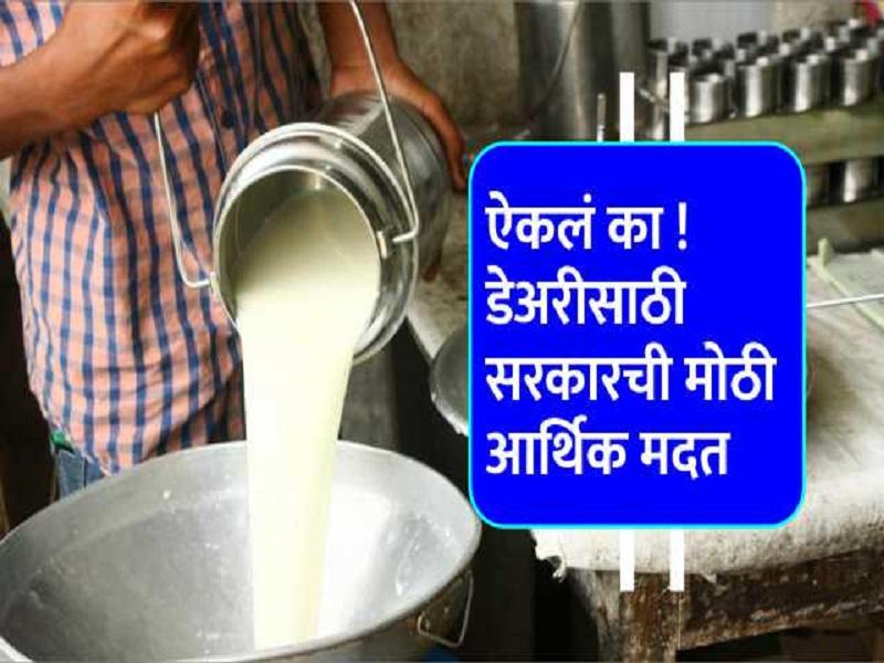 काय सांगता ! दहा म्हैशींच्या डेअरीसाठी मिळतय ७ लाख रुपयांचं कर्ज