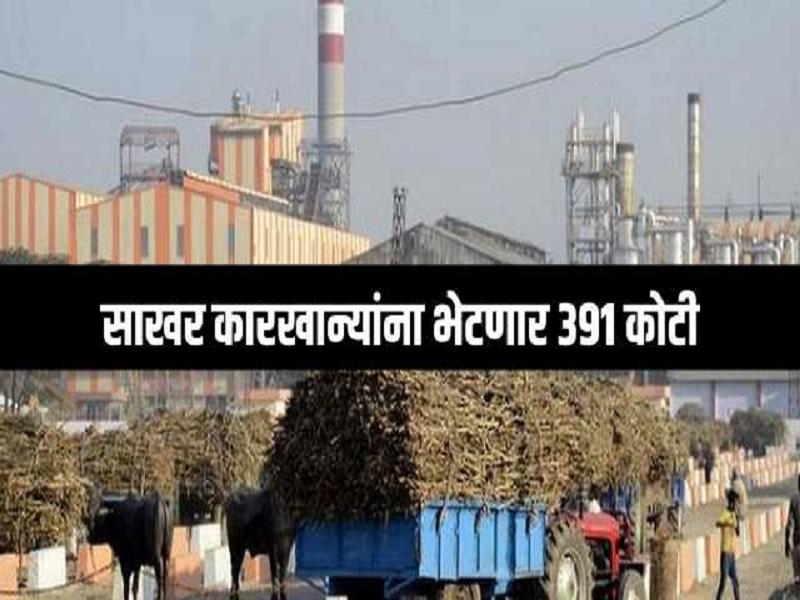 राज्यातील ३२ साखर कारखान्यांना ३९१ कोटीची थकहमी