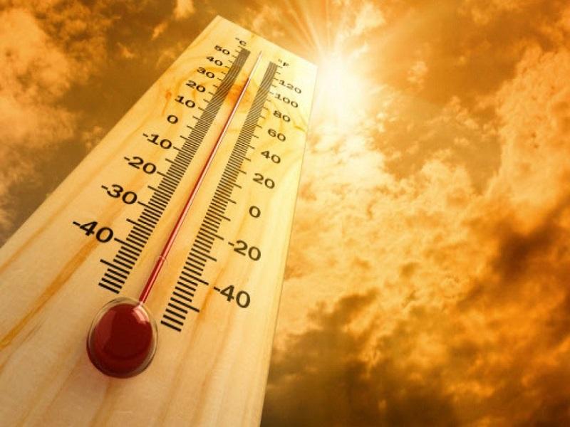 तापमानाचा पारा वाढला